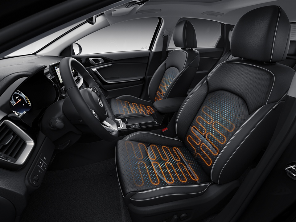 kia ceed heated seats