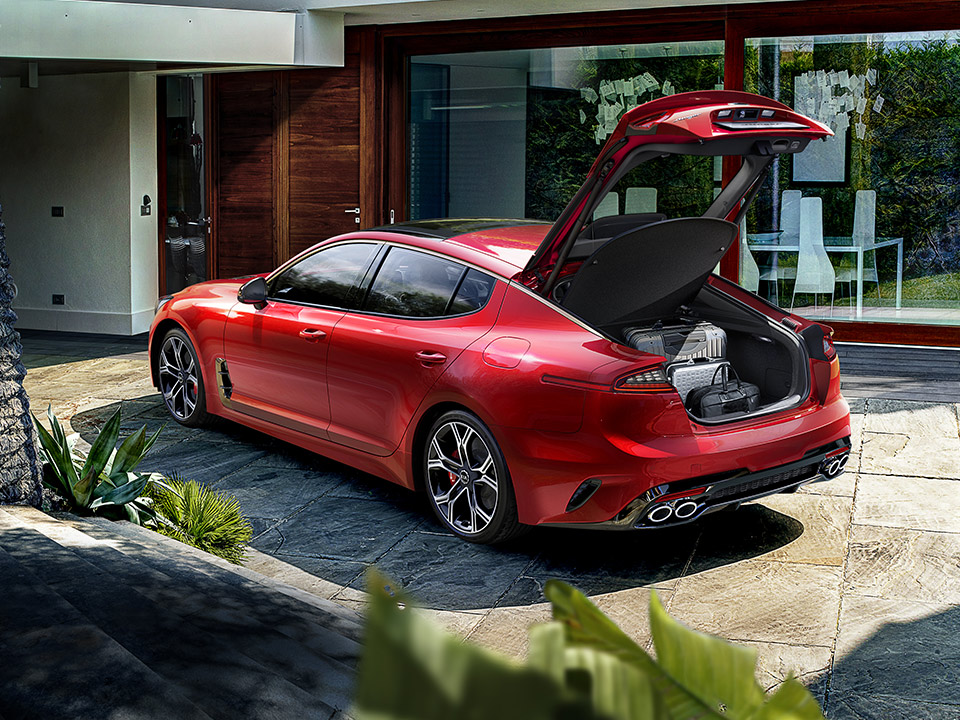 Kia Stinger smart power tailgate